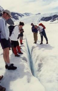 glaciercrevasse